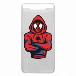 Чохол для Samsung A80 Людина павук в толстовці