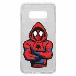Чохол для Samsung S10e Людина павук в толстовці