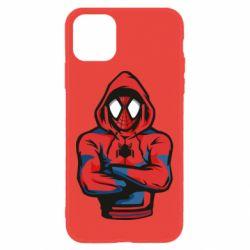 Чохол для iPhone 11 Людина павук в толстовці