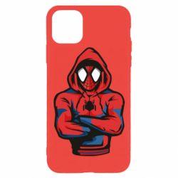 Чохол для iPhone 11 Pro Людина павук в толстовці