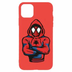 Чохол для iPhone 11 Pro Max Людина павук в толстовці