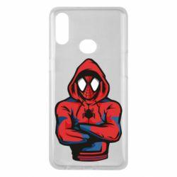 Чохол для Samsung A10s Людина павук в толстовці