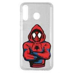 Чохол для Samsung M30 Людина павук в толстовці