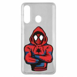Чохол для Samsung M40 Людина павук в толстовці