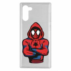 Чохол для Samsung Note 10 Людина павук в толстовці