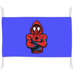 Прапор Людина павук в толстовці