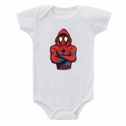 Дитячий бодік Людина павук в толстовці