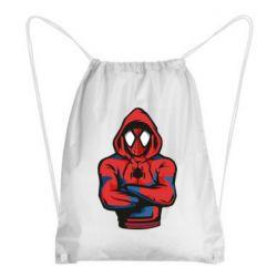 Рюкзак-мішок Людина павук в толстовці