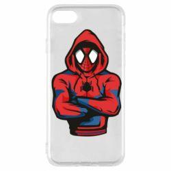 Чохол для iPhone 7 Людина павук в толстовці