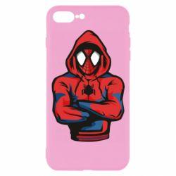 Чохол для iPhone 7 Plus Людина павук в толстовці