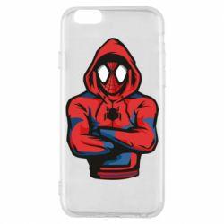 Чохол для iPhone 6/6S Людина павук в толстовці