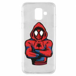 Чохол для Samsung A6 2018 Людина павук в толстовці