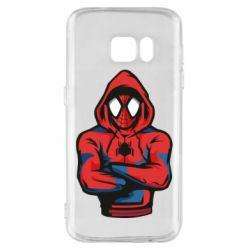 Чохол для Samsung S7 Людина павук в толстовці
