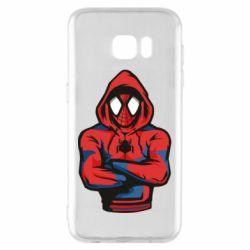 Чохол для Samsung S7 EDGE Людина павук в толстовці