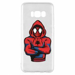 Чохол для Samsung S8 Людина павук в толстовці
