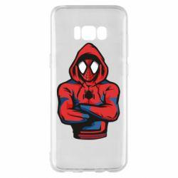 Чохол для Samsung S8+ Людина павук в толстовці