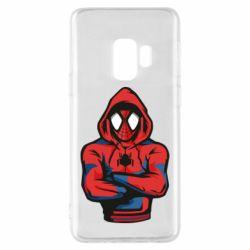 Чохол для Samsung S9 Людина павук в толстовці