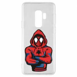 Чохол для Samsung S9+ Людина павук в толстовці