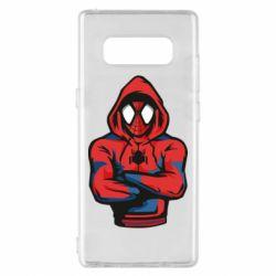 Чохол для Samsung Note 8 Людина павук в толстовці