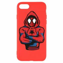 Чохол для iPhone 8 Людина павук в толстовці