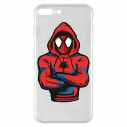 Чохол для iPhone 8 Plus Людина павук в толстовці