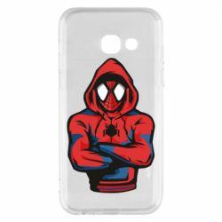 Чохол для Samsung A3 2017 Людина павук в толстовці