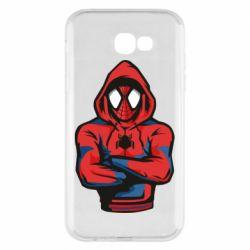Чохол для Samsung A7 2017 Людина павук в толстовці