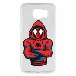Чохол для Samsung S6 Людина павук в толстовці