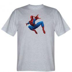Мужская футболка Человек Паук - FatLine