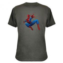 Камуфляжная футболка Человек Паук - FatLine