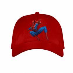 Детская кепка Человек Паук