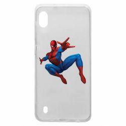 Чохол для Samsung A10 Людина павук