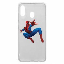 Чохол для Samsung A20 Людина павук
