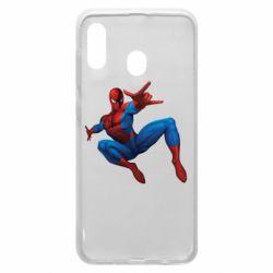 Чохол для Samsung A30 Людина павук