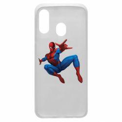 Чохол для Samsung A40 Людина павук