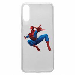 Чохол для Samsung A70 Людина павук