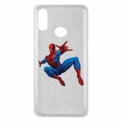 Чохол для Samsung A10s Людина павук