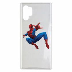 Чохол для Samsung Note 10 Plus Людина павук