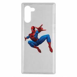 Чохол для Samsung Note 10 Людина павук