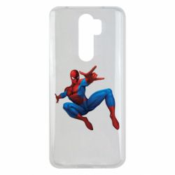 Чохол для Xiaomi Redmi Note 8 Pro Людина павук