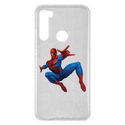 Чохол для Xiaomi Redmi Note 8 Людина павук