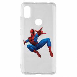 Чохол для Xiaomi Redmi S2 Людина павук