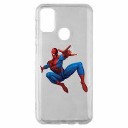 Чохол для Samsung M30s Людина павук