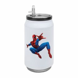 Термобанка 350ml Людина павук