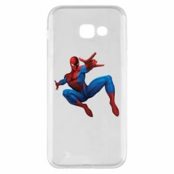 Чехол для Samsung A5 2017 Человек Паук - FatLine