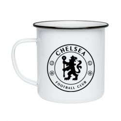 Кружка емальована Chelsea Club