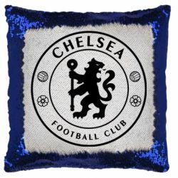 Подушка-хамелеон Chelsea Club