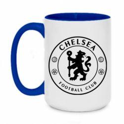 Кружка двоколірна 420ml Chelsea Club