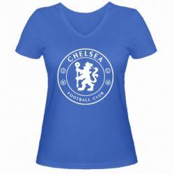 Жіноча футболка з V-подібним вирізом Chelsea Club