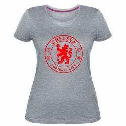 Жіноча стрейчева футболка Chelsea Club